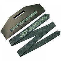Вузький краватку «Графіт»