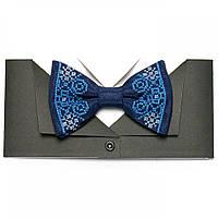 Вишиту краватку-метелик «Наум»