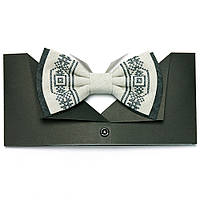 Вишиту краватку-метелик «Сірко»