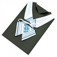 Вышитый кросс-галстук «Бела»