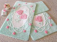 Набор ковриков для ванной комнаты Alessia Турция
