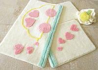 Набор из трех ковриков для ванной комнаты Alessia Турция