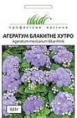 Семена цветов Агератум 0,25 гр сорт Голубой мех