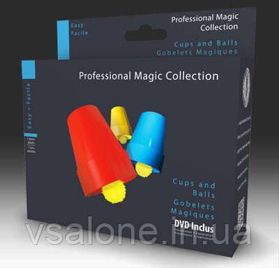 OID Magic Фокус СТАКАНЫ И ШАРЫ С DVD
