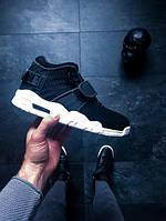 Мужские зимние кроссовки Nike Air Trainer Victor Cruz (Найк Аир тренер) черно-белые