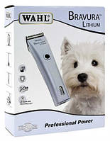 Машинка д/стрижки животных WAHL Bravura Lithium, фото 1