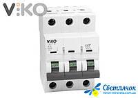 Автоматический выключатель 3р 10А 4,5КА 230/400V Тип С VIKO