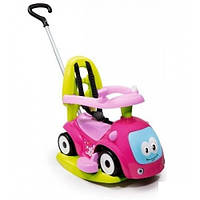 Автомобиль-каталка 4 в 1 Smoby Maestro Balade Pink