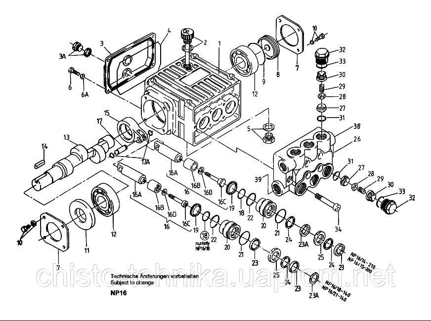 P71/110-250 Запчасти ремкомплекты клапана для плунжерного насоса высокого давления Speck (Шпек) P71/110-250 - Чисто техника, Чистый свет в Запорожье