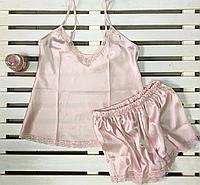 Красивая атласная женская пижама Jasmin размер  S,XL