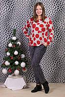 Женские штаны на меху Натали А993-5 6XL. Размер 52-58.
