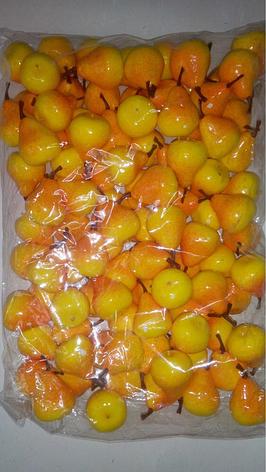 Муляж груши,искусственная груша,искусственный фрукт, фото 2