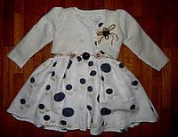 Праздничное платья для девочки Орхидея 2 года