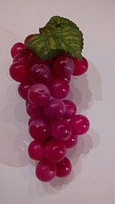 Искусственная гроздь винограда, фото 2