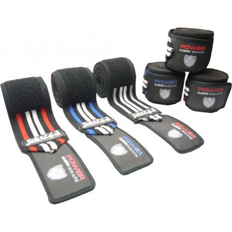 Колінний бинт Power system PS-3700 Knee Wraps