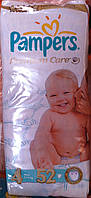 "Подгузник "" Pampers Premium Care ""  4   7-18кг.  ( 52 шт.)"