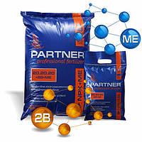 Bor+ с повышеным составом фосфора NPK 20.20.20 +2B+МЕ - комплексное удобрение, PARTNER BOR 2,5 кг