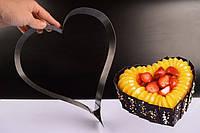 Форма для выпечки и сборки торта Сердце
