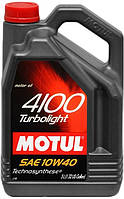 Масло моторное Motul 4100 Turbolight 10W-40 5 л