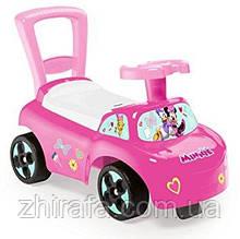 Машинка-каталка 2в1 Smoby Minnie Mouse 720516