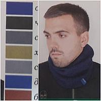"""Бафф """"Шадо 30"""" на флисе (мужской хомут), 100% акрил, разные цвета, 125/105 (цена за 1 шт. + 20 гр.)"""