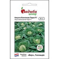ПАРЕЛ F1 / PAREL F1 — капуста белокочанная, Bejo (Садыба Центр) 20 семян