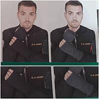 """Мужские митенки (перчатки) """"КЛП 23-26"""", 100% хлопок, разные цвета, 95/75 (цена за 1 шт. + 20 гр.)"""