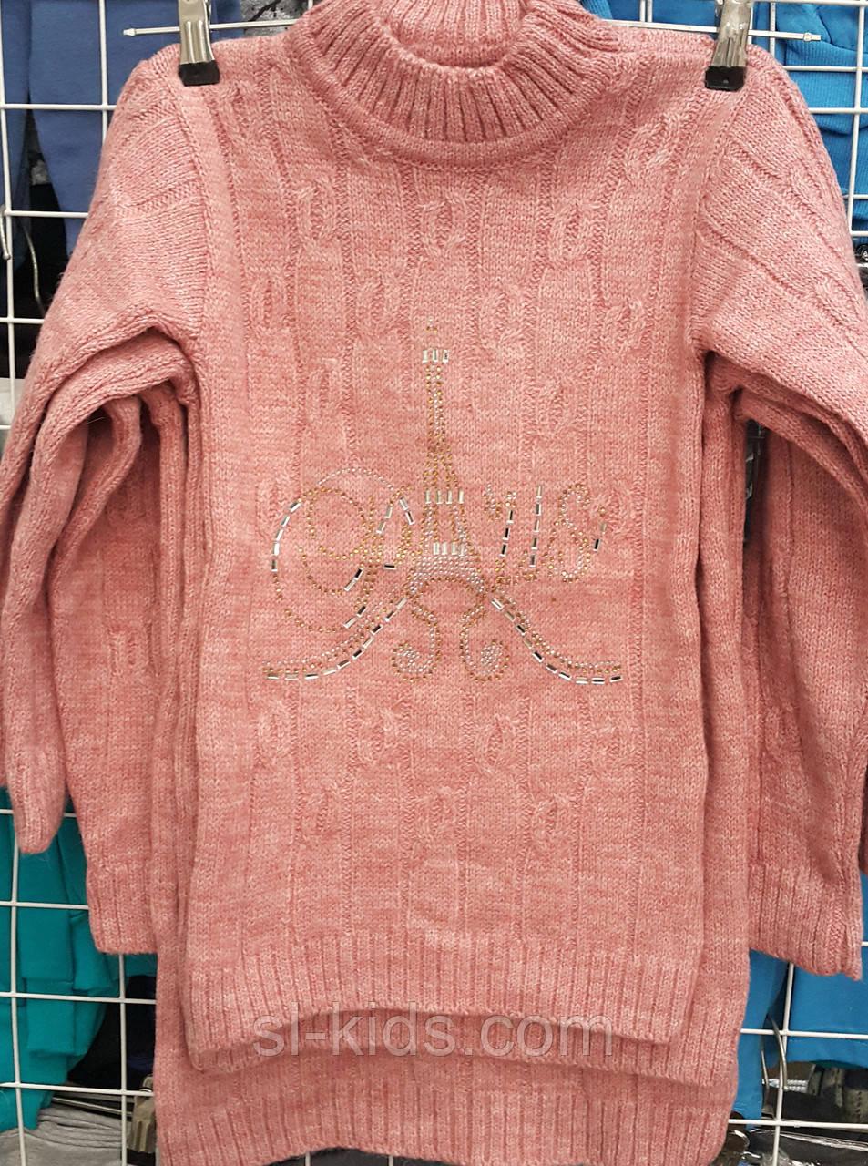 Туника вязка для девочки 4-9 лет (Gilgin 042)