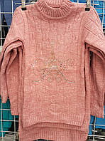 Туника вязка для девочки 4-9 лет (Gilgin 042), фото 1