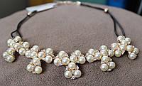 Нарядное женское ожерелье