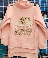 Туника вязка для девочки 4-9 лет (Gilgin 052)
