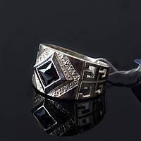 Серебряное кольцо печатка Колумб