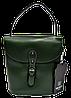 Женская сумочка из натуральной кожи зеленого цвета WWR-020011