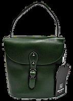 Женская сумочка из натуральной кожи зеленого цвета WWR-020011, фото 1