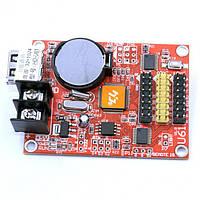 Контроллер HD-U61для бегущих строк, 32*320, TEXT, GIF, 3D эффекты