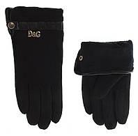 Перчатки женские кожаные 1110 DG ПММ шер