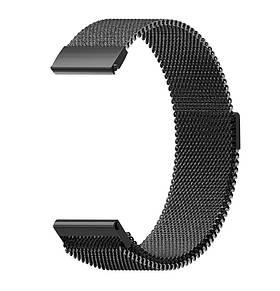Міланський сітчастий ремінець для годинника Fitbit Blaze - Black