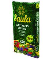 Торфяной субстрат Saula для цветов от 0 до 20 мм, Rekyva 20 л