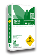 МУЛЬТИ-К 13-0-46 / MULTI-K (калийная селитра) - комплексное минеральное удобрение 25 кг, Haifa