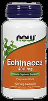 Экстракт эхинацеи, Echinacea 400mg Now Foods,  100 caps