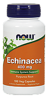Экстракт эхинацеи, Echinacea 400mg Now Foods,  100 caps