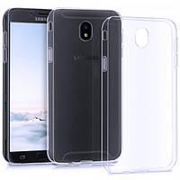 Чехол силиконовый прозрачный для Samsung J530, 0.5mm