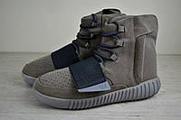Кроссовки мужские зимние (адидас) Adidas yeezy boost 750 (реплика)