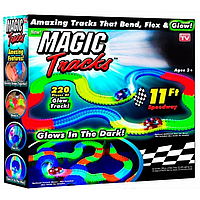 Детская Гибкий Трек Magic Tracks 909-232 Новинка, Гибкий гоночный трек Оригинал 220 деталей