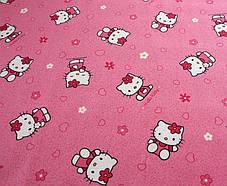 Розовый ковер в детскую HELLO KITTY 60, фото 3