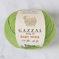 Пряжа gazzal baby wool 838 в моточках для ручного вязания