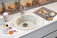 Кухонная мойка Moko ROMA, круглая 510мм