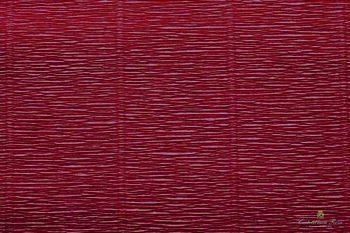 Бумага креповая, бордовый № 588, 50*250 см, 180 г/м2, Cartotecnica Rossi, 6058806