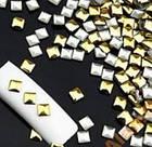 Заклепки для ногтей, квадрат 100 шт, 3 мм, фото 3