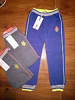 Теплые спортивные штаны для мальчиков на флисе